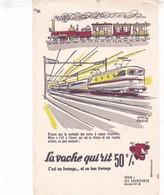 Buvard Série Transports N°4 Hervé Baille La Vache Qui Rit - Dairy