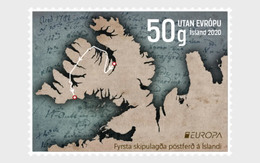 IJsland / Iceland - Postfris / MNH - Complete Set Europa, Oude Postroutes 2020 - Unused Stamps