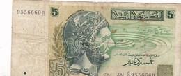 5 DINARS 07/11/1993 - Tunisia