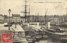 VANNES  Le Port à L'arrivée Des Vapeurs RV - Vannes