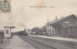 CPA 17 - FONTAINE D OZILLAC - La Gare - Altri Comuni