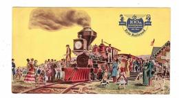 Hundredth Anniversary Of ERIE RAILROAD, 1851-1951, 1951 Chrome Postcard - Trains