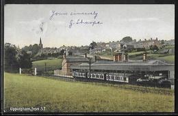 CPA ANGLETERRE - Uppingham, From S.E. - Train Station - Rutland