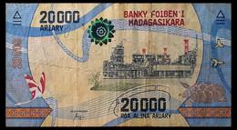 # # # Banknote Madagaskar 10.000 Francs UNC # # # - Madagascar