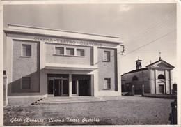 Cartolina Ghedi (Brescia) - Cinema Teatro Oratorio. - Brescia