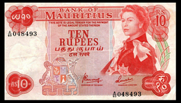 # # # Banknote Mauritius 10 Rupees # # # - Mauritius