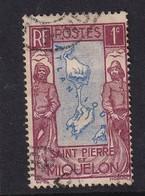 St. Pierre Et Miquelon 1932, Minr 133 Vfu - Oblitérés