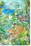 F107  Série Nature (XXII) Faune En Voie De Disparition Dans Les Dpt D'outre-Mer 2007 - Mint/Hinged