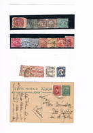 Ägypten, Kl. Lot Klassik Und Ganzsache; 4611 - Égypte