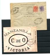 ESPAGNE - Lettre De Sanlucar De Barrameda Pour Bordeaux Du 29/11/1916 Avec Contrôle Postal Militaire - Espagne