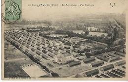 Ferroviaire Cher Nièvre Convoyeur  BOURGES à NEVERS Sur 15c Semeuse 1921 Cpa Camp D'Avord ....G - Bahnpost
