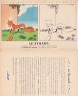 Animaux à Colorier Nestlé - Le Renard - Nestlé