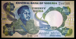 # # # Banknote Nigeria 20 Naira 2005 UNC # # # - Namibia