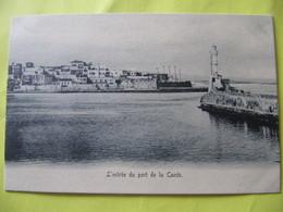 L'entrée Du Port De La Canée       TBE - Greece