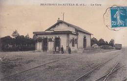 BEAUMONT-les-AUTELS  : (28) La Gare - France