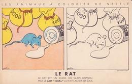 Animaux à Colorier Nestlé - Le Rat - Nestlé