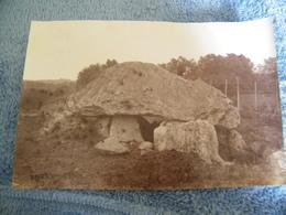 ATTENTION Photo Originale Maurice Gourdon - Pyrénées Atlantiques (64) - Dolmen De Buzy - 1884 - SUP - (Ph 31) - Autres Communes