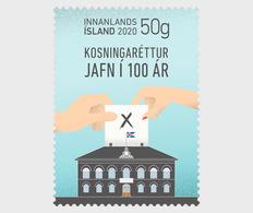 IJsland / Iceland - Postfris / MNH - 100 Jaar Gelijke Stemrechten 2020 - Unused Stamps