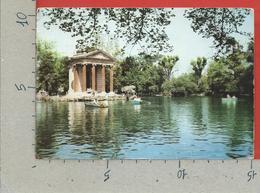 CARTOLINA VG ITALIA - ROMA - Lago Nel Giardino Di Villa Borghese - 10 X 15 - 1977 - Parks & Gardens