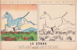 Animaux à Colorier Nestlé - Le Tigre - Nestlé