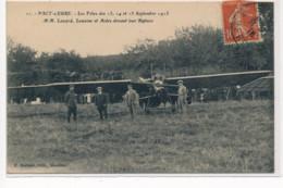 PACY-sur-EURE : Les Fetes Des 13 14 15 Septembre 1913 M.M. Lazard Lemoine Devant Biplan - Tres Bon Etat - Andere Gemeenten