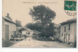 SOMMERANCE : Entrée Du Village Venant De Saint-juvin - Tres Bon Etat - Autres Communes