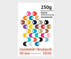 IJsland / Iceland - Postfris / MNH - 50 Jaar Reykjavik Kunstfestival 2020 - Unused Stamps