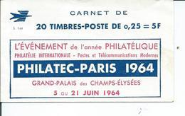 Carnet N° 1263 C4 Du 06.05.1964 Incomplet  ( Manque 3 Timbres) - Uso Corrente