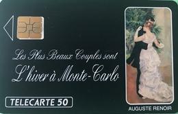 MONACO  -  Privées-Publiques  -  ME 6  -  SO3  -  DANSE A LA VILLE  -  (puce Décalée)  -  50 Unités - Monace