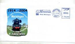Lettre Flamme Ema Meiningen Atelier Train - [7] Federal Republic