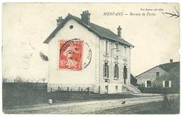 Cpa Mervans - Bureau De Postes - France