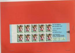 Y75 Polynésie Carnet N** Yv:C 427 Mi:MH627 10 Timbres-poste à 46F Pêche Couleur Lagon VOIR SCAN POUR ETAT - Carnets