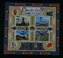 France 2020 - Capitales  Européennes: DUBLIN- Bloc Oblitéré - Oblitérés