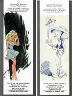 Marque-page Dargaud Dany (Colombe) Moriis (Lucky Luke) - Marcapáginas