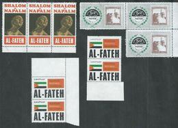 Palestine. 10vignettes Al-Fateh - Palestine