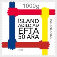 IJsland / Iceland - Postfris / MNH - 50 Jaar EFTA 2020 - Unused Stamps