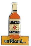 PASTIS - P09 - RICARD  - BOUTEILLE UN RICARD... - Verso : L'ABUS D'ALCOOL/... Sur 1 Ligne - Beverages