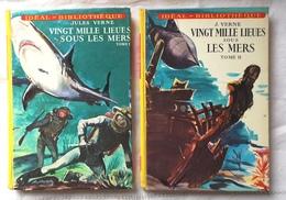 VINGT MILLE LIEUES SOUS LES MERS Jules Verne  Illustrations Jean Reschofsky - Idéal Bibliothèque 1971-72 - Bücher, Zeitschriften, Comics