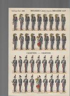SI/32/  MILITAIRE PRENTEN  De EPINAL ,de G. FISCHBACH.. 4 Expl. - Vieux Papiers