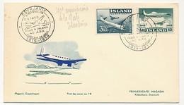 ISLANDE - Enveloppe FDC - 40eme Anniversaire De La Poste Islandaise - 1959 - FDC