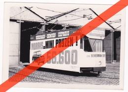 FOTO ANTWERPSE TRAM MET RECLAME MORRIS AUTO'S - BEHERMAN - (NU IN BORNEM) - Vervoer