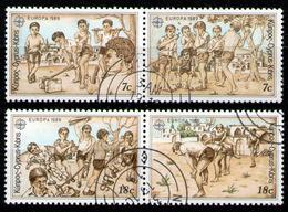 CYPRUS 1988 - Set Used - Chypre (République)