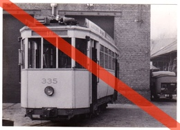 FOTO GENTSE TRAM VOOR DE STELPLAATS EN KLAAR VOOR DE SLOOP - GENT - SINT AMANDSBERG - Vervoer
