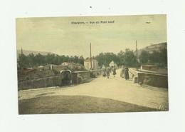 11 - CHALABRE - Vue Du Pont Neuf Troilé Colorisé Animée Bon état - France