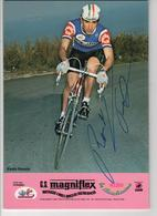 PAOLO ROSOLA  SIGNEE MAGNIFLEX 1981 FORMAT 24 X 16.8 CMS - Radsport