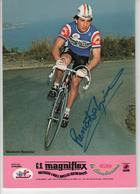 GIOVANNI RENOSTO  SIGNEE MAGNIFLEX 1981 FORMAT 24 X 16.8 CMS - Radsport