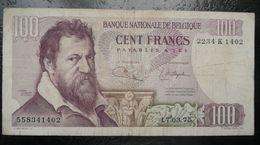 Belgique - Billet De 100 Francs - Lambert Lombard - 100 Franchi