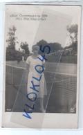 Tennis - JEUX OLYMPIQUES DE 1924 - MISS MAC KANE Posant Pour La Photo Grande Bretagne - CPA AN PARIS N° 457 - Tennis