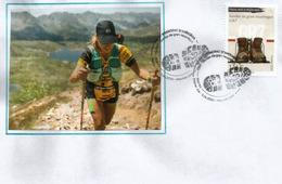 ANDORRA.Sentier De Grande Randonnée GR7 (Ballon D'Alsace Massif Des Vosges à Andorre-la-Vieille (Andorre). FDC 2020 - Athletics