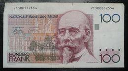 Belgique - Billet De 100 Francs - Hendrik Beyaert - [ 2] 1831-... : Reino De Bélgica